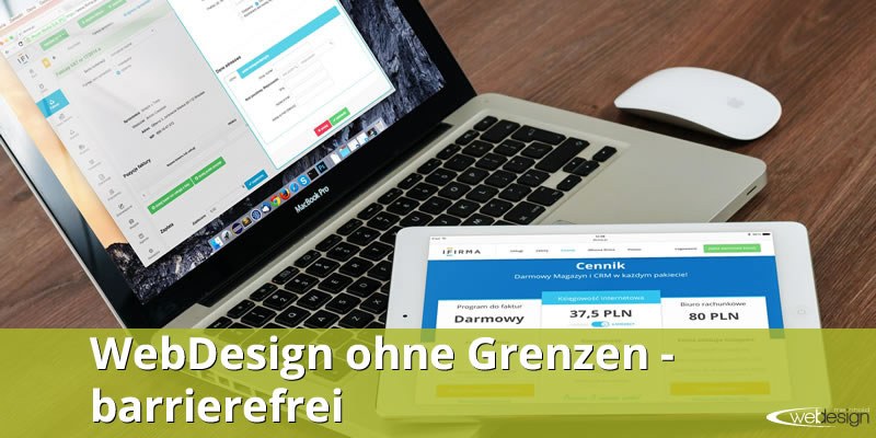 Webdesign barrierefrei